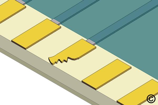 4.6.2 Edge Contact Repair, Film Adhesive Method
