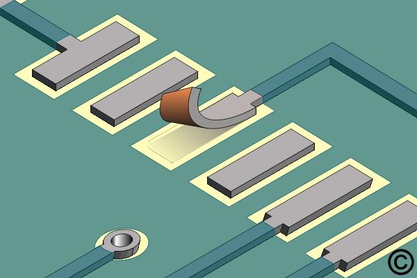 4.7.2 Surface Mount Pad Repair, Film Adhesive Method