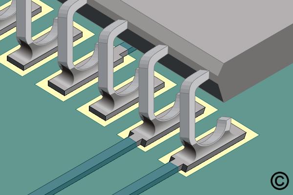 7.4.2 Soldering Surface Mount J Lead Components Continuous Flow Method